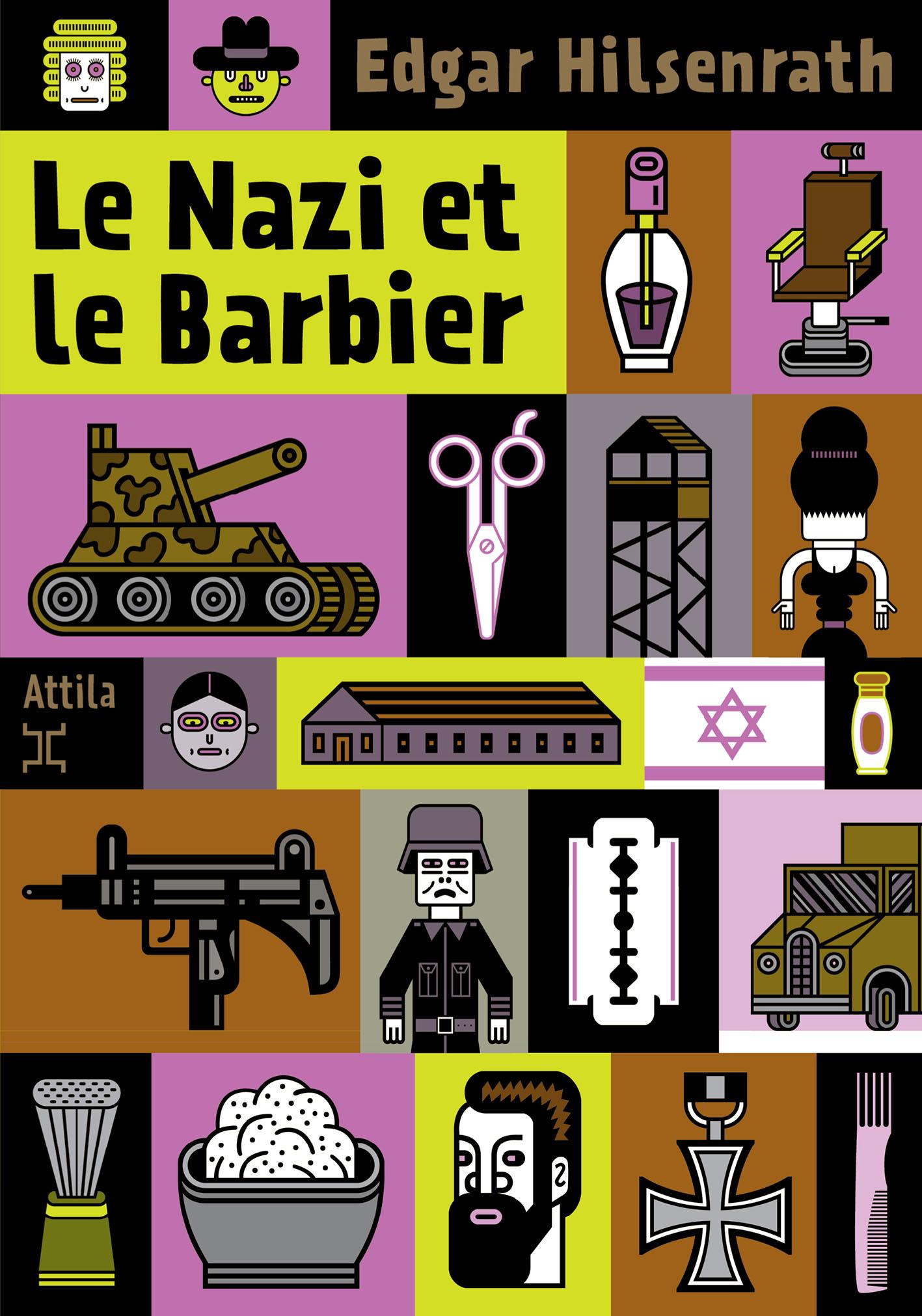couverture du livre Le Nazi et le Barbier
